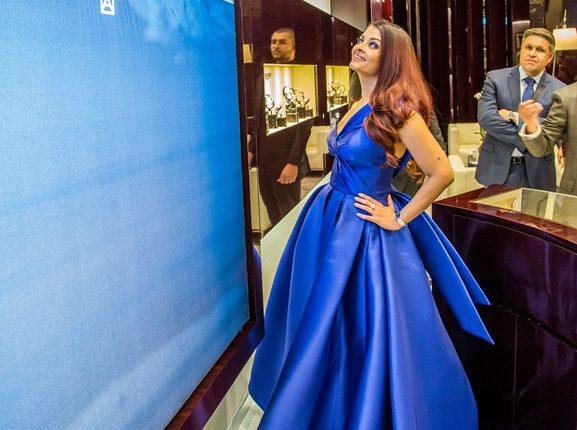 Aishwarya Rai model for Longines