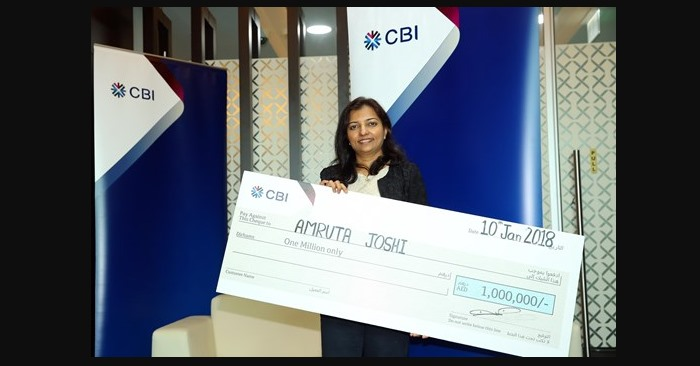 indian expat win CBI bank draw