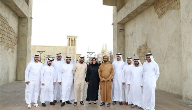 sheikh mohammed visits dubai global village (4)