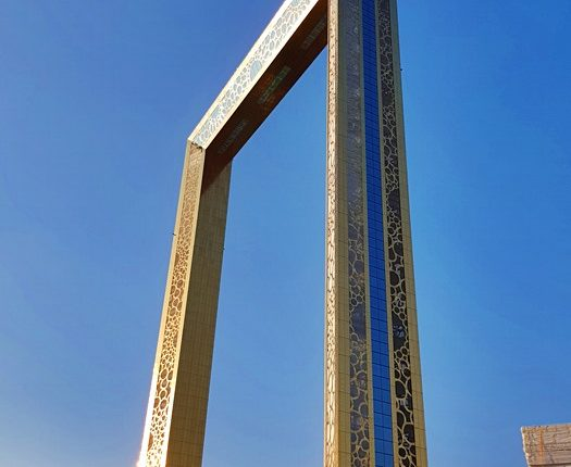 the dubai frame
