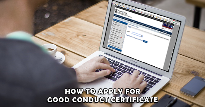 uae good conduct certificate apply for indians