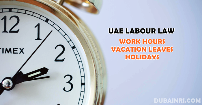 uae labour work hours