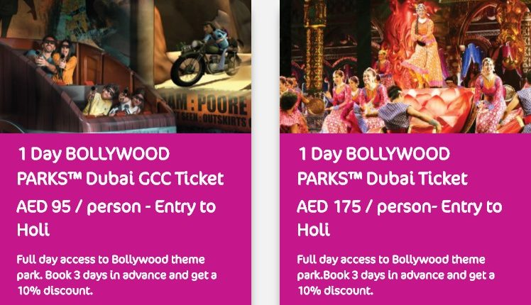 bollywood tickets holi festival park