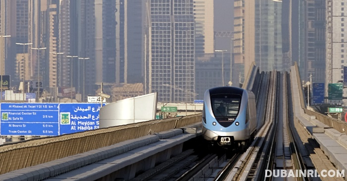 dubai metro transport