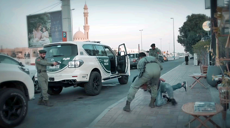 Dont mess with Dubai Police