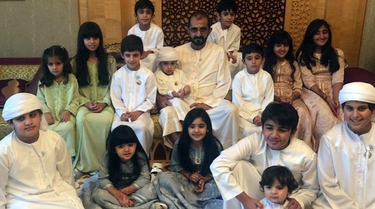 sheikh mohammed family eid al fitr