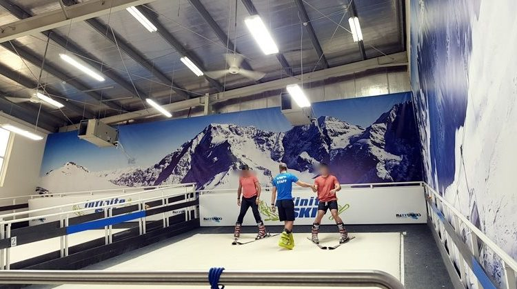 infinite ski dubai photo